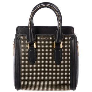Alexander McQueen Heroine Studded Mini satchel bag